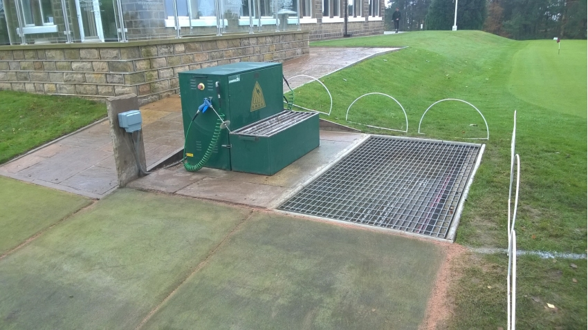 golf shoe cleaner machine